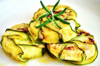 crostata con zucchine e prosciutto