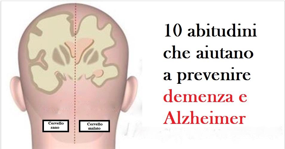demenza e alzheimer
